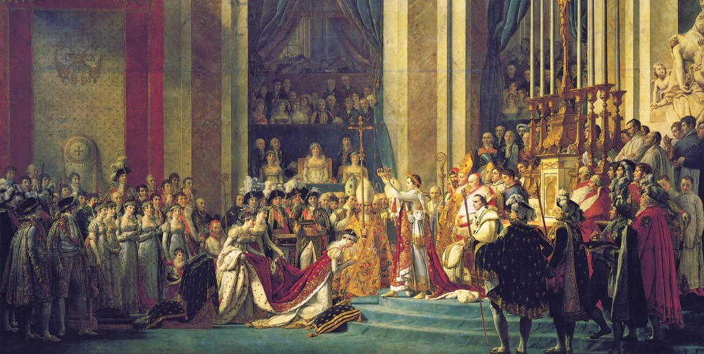 Jacques-Louis_David,_The_Coronation_of_Napoleon_crop