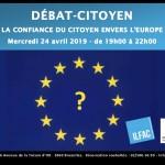 confiance des citoyens en l'Europe bonbon